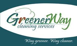 GreenerWay Cleaning Company Logo Design